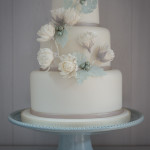 Winter Cotton Wedding Cake